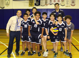 U-14 Boy VB with Mr.Mike